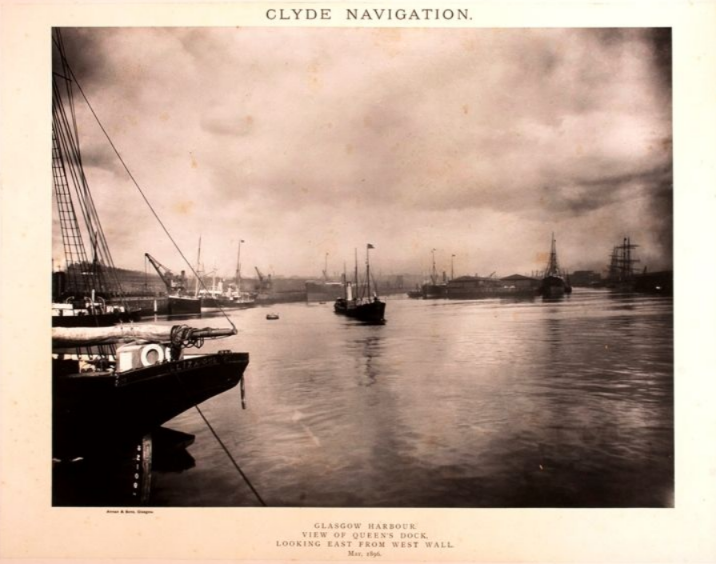 Annan and sons - Clyde Navigation. Glasgow Harbour And Docks.