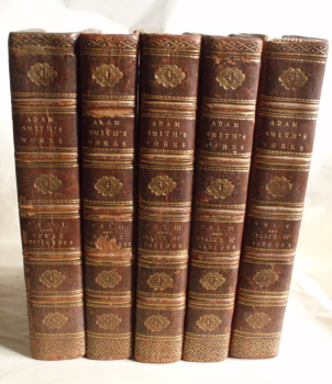 Adam Smith. The Works 1811-1812 First edition