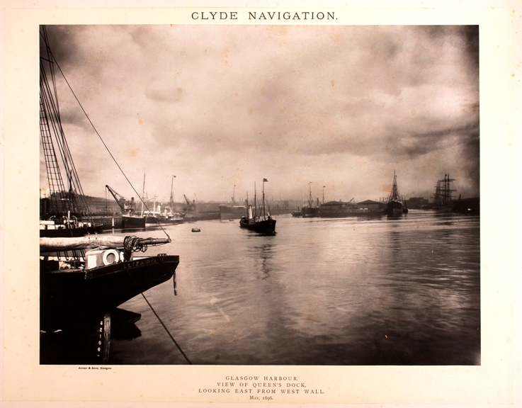 Annan & Sons - Clyde Navigation. Glasgow Harbour and Docks