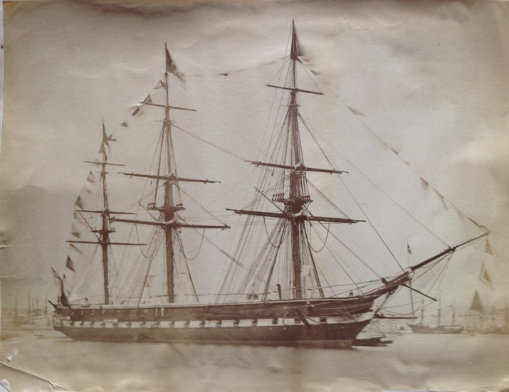 Casper Baker - Early photographs of the Royal Navy, Algiers, Seville and Gibraltar