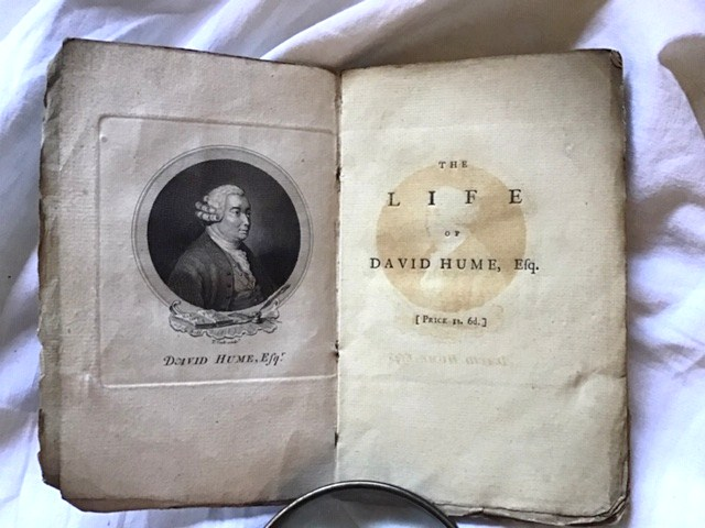 David Hume. The Life of David Hume Esq. Written by Himself.