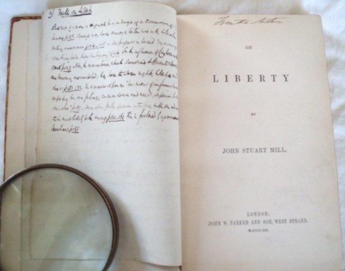 John Stuart Mill. On Liberty