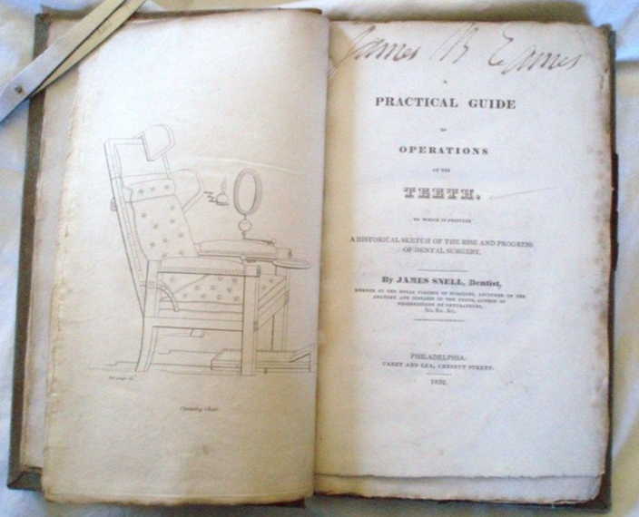 James Snell. A Practical Guide To Operations On The Teeth. To Which Is Prefixed A Historical Sketch Of The Rise And Progress Of Dental Surgery